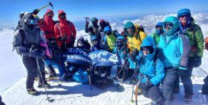 Kazbek i Elbrus - wspomnienia z mojej pierwszej wyprawy górskiej